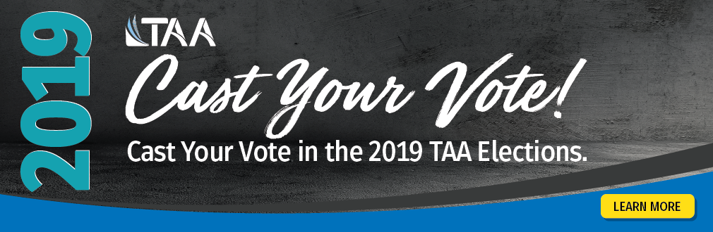 2019 TAA Council Elections