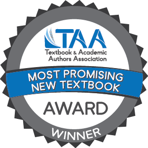Most Promising New Textbook Award Logo