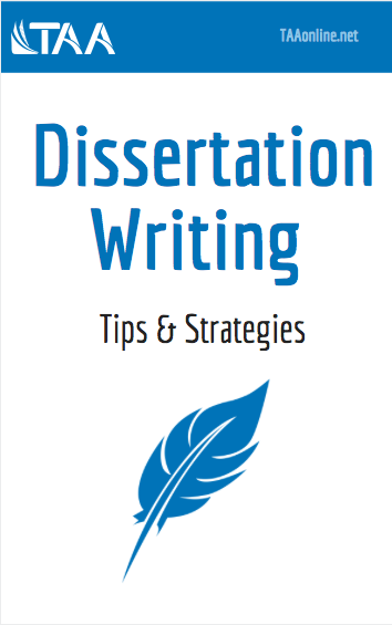 Dissertation Writing ebook