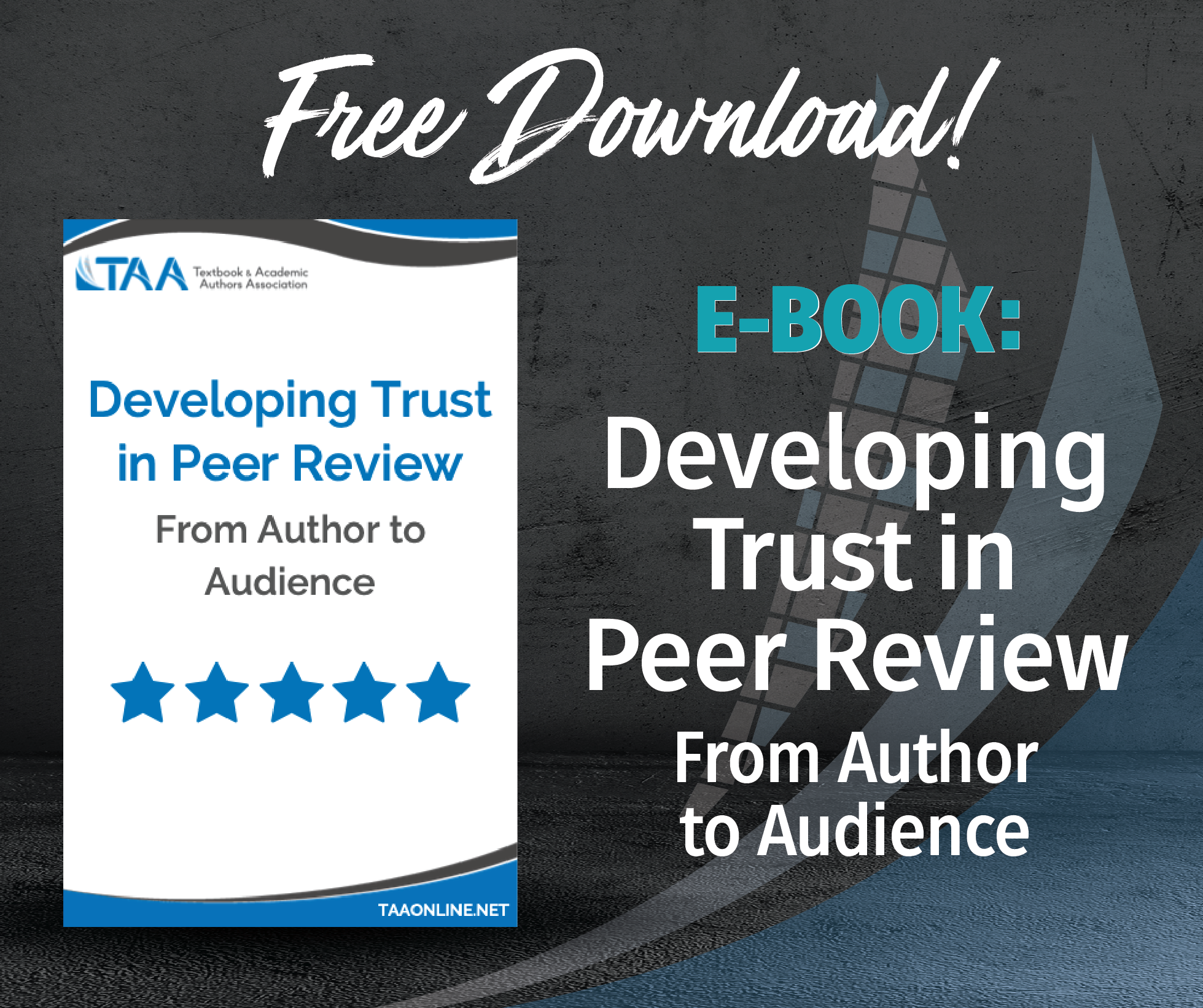 Developing Trust in Peer Review eBook Download