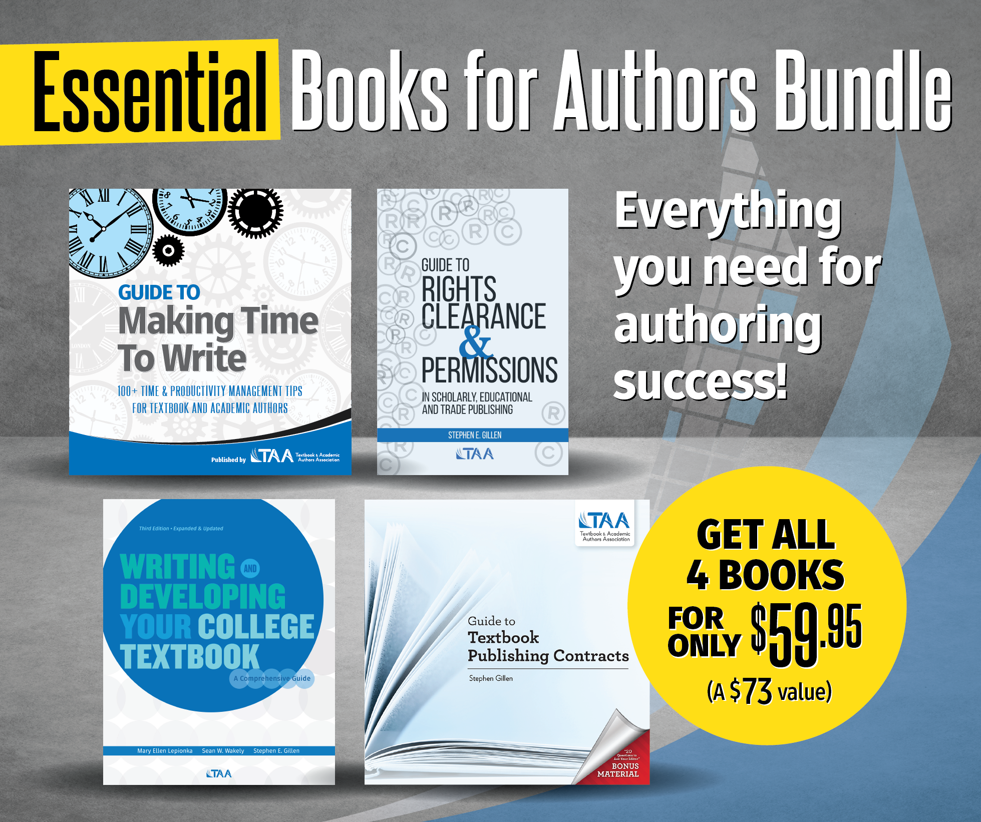 Essential Books for Authors Bundle