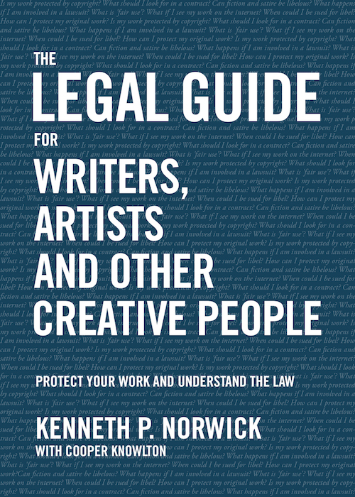 The Legal Guide for Writers and Other Creative People