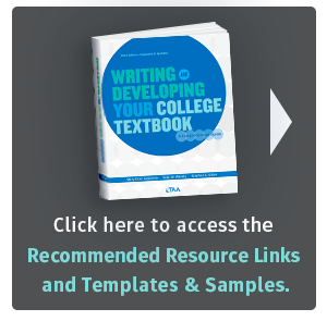 Writing and Developing Your College Textbook Resources