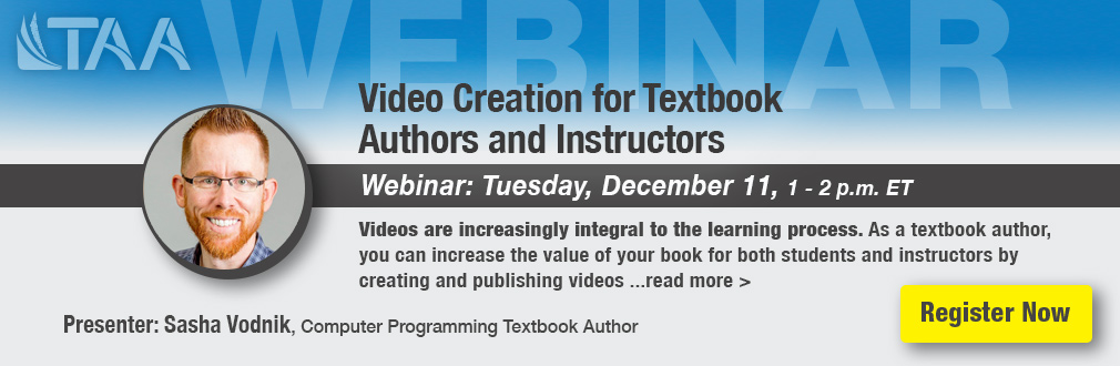Video Creation for Textbook Authors and Instructors