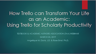 How Trello Can Transform Your Life as an Academic